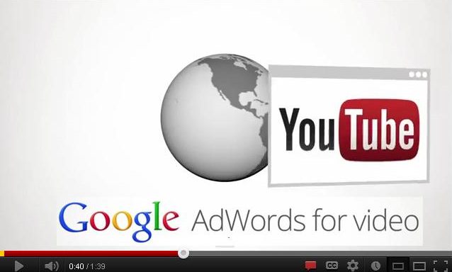 YouTube видео реклама AdWords